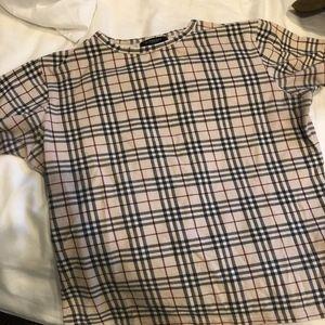 Classic Burberry Print T-shirt